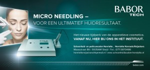 advertentie micro-needling